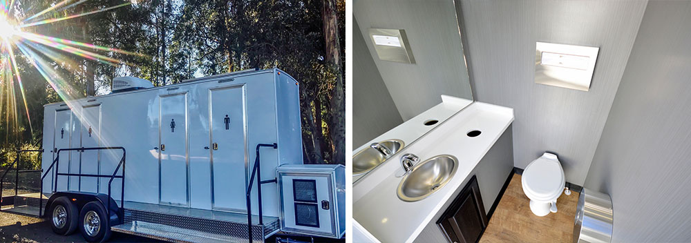 portable toilet and restroom rentals in Ventura County